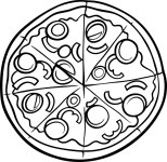 Pizza Coloring Pages Pizza Coloring Pages Coloring Pages