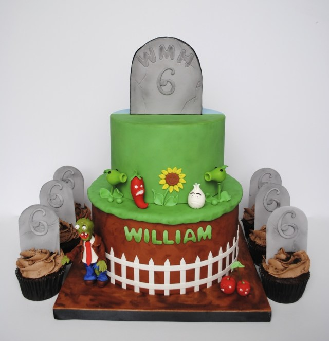 Plants Vs Zombies Birthday Cake Plants Vs Zombies Cake Cakecentral