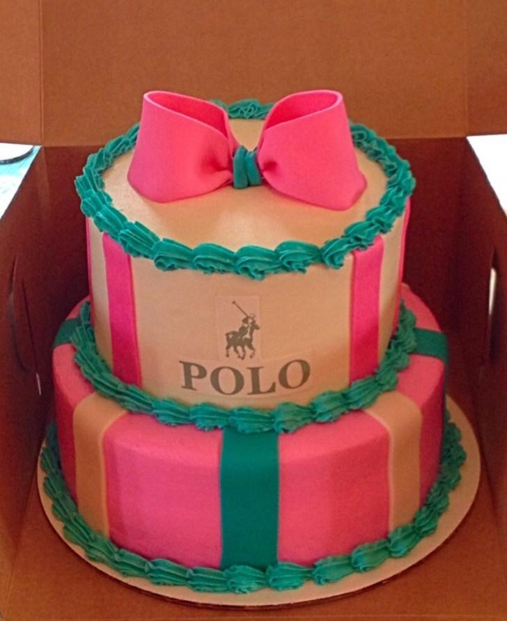 30 Elegant Image of Polo Birthday Cake