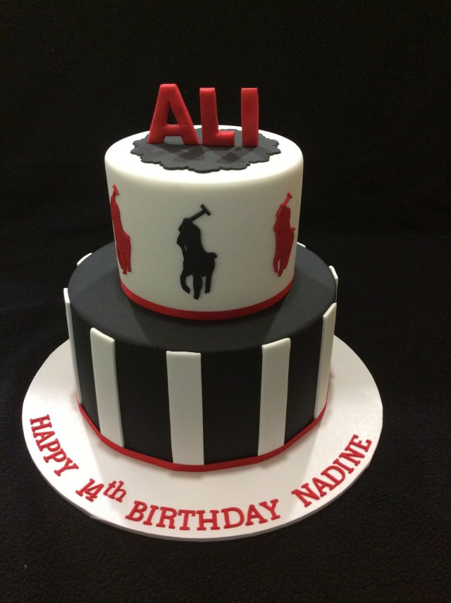 Polo Birthday Cake Polo Ralph Lauren Inspired Birthday Cake Polo Pinterest