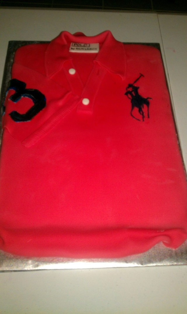 Polo Birthday Cake Ralph Lauren Polo Shirt Birthday Cake Cakecentral