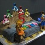 Power Ranger Birthday Cakes Power Rangers Cake Rdie Girl Custom Cakes