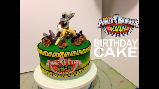 Power Ranger Birthday Cakes Power Rangers Dino Charge Personalized Birthday Cake Idea And