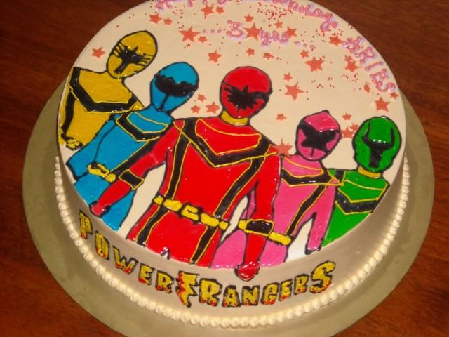 Power Rangers Birthday Cake Power Ranger Cakes Decoration Ideas Little Birthday Cakes