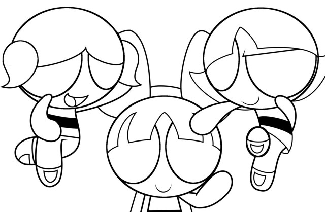 Powerpuff Girls Coloring Pages Powerpuff Girl Coloring Pages Futurama