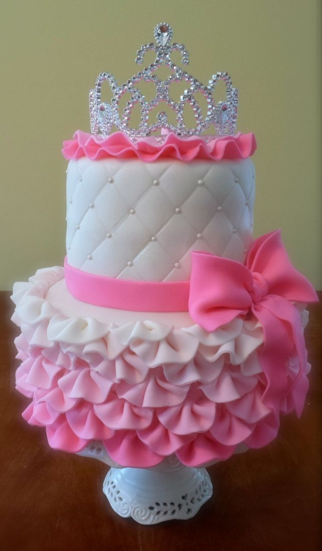 Princess 1St Birthday Cake Princess Cake Tutorial Princess Party Pinterest Cake Birthday