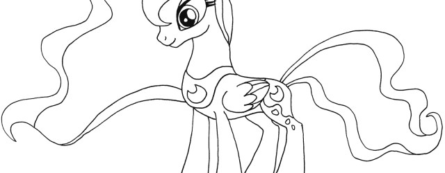 Princess Luna Coloring Page My Little Pony Princess Luna Coloring Page Free Printable Coloring
