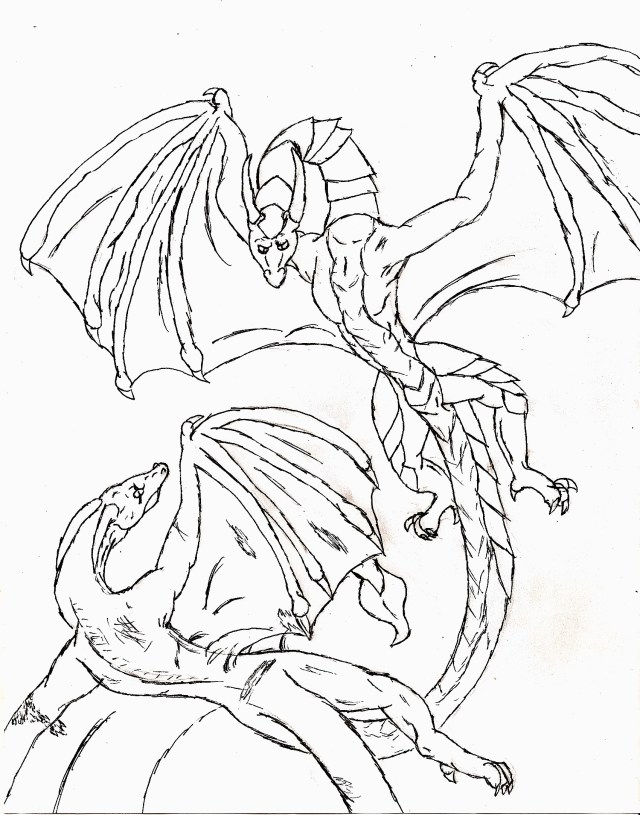 Printable Dragon Coloring Pages Free Printable Dragon Coloring Pages For Kids For Dragon Images To