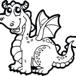 Printable Dragon Coloring Pages Fresh Cartoon Dragon Coloring Pages Design Printable Sheet With