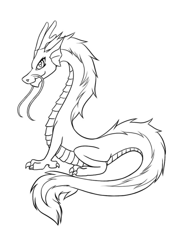 Printable Dragon Coloring Pages Fresh Chinese Dragon Head Coloring Sheet Doiteasy
