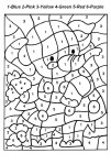 Printable Number Coloring Pages Free Printable Color Number Coloring Pages Best Coloring Pages