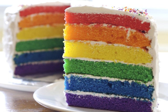 Rainbow Birthday Cake Rainbow Birthday Cake Recipe From Scratch Makebetterfood