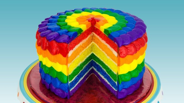 Rainbow Birthday Cakes Rainbow Cake How To Make A Rainbow Cake Cookies Cupcakes And