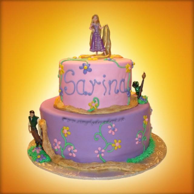 Rapunzel Birthday Cake Disney Tangled Rapunzel Birthday Cake Cakecentral