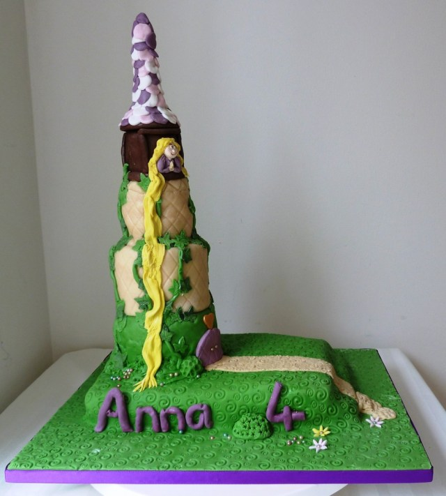 Rapunzel Birthday Cake Rapunzel Birthday Cake Wedding Birthday Cakes From Maureens