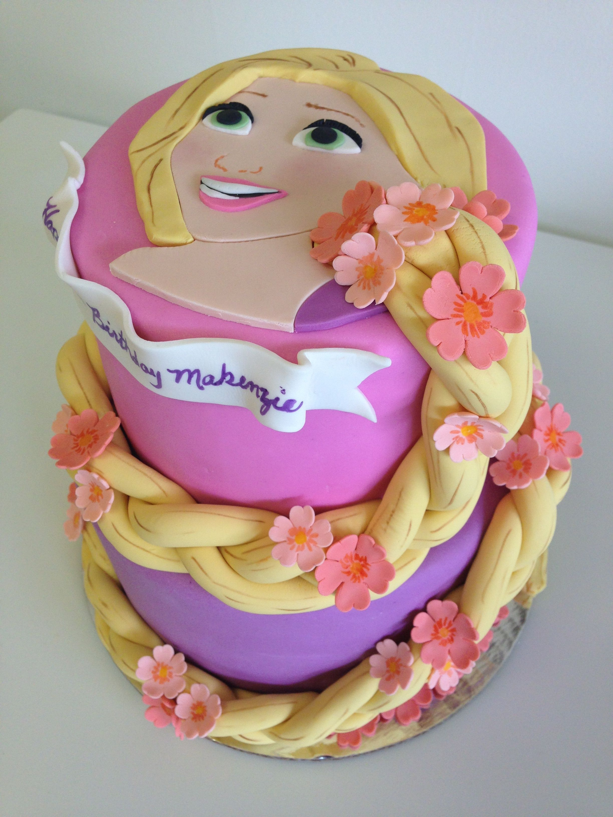 Rapunzel Birthday Cake Rapunzel Cake I Would Have No Idea How To Do This But I Would Love