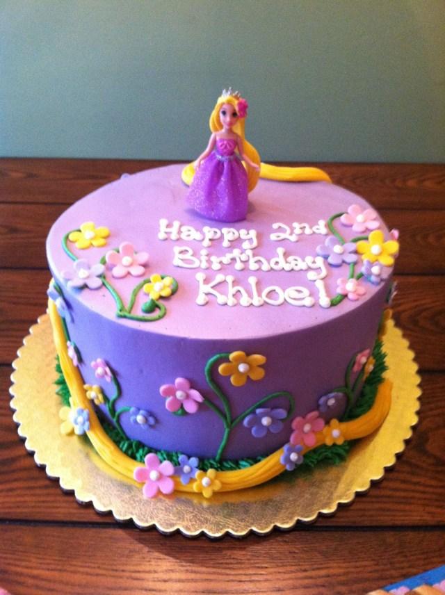 Rapunzel Birthday Cake Rapunzel Cake Siennas 3rd Princess Cakes In 2019
