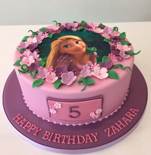 Rapunzel Birthday Cake Tangled Rapunzel Edible Image Birthday Cake Birthday Cake Ideas