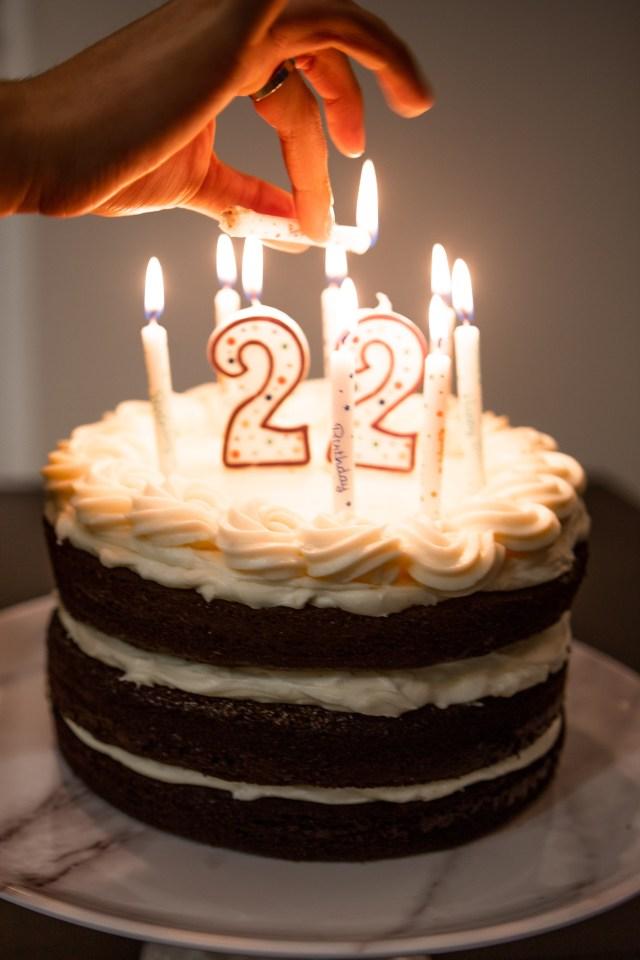 Red Birthday Cake Dark Chocolate Red Velvet Birthday Cake Daydreamer Style