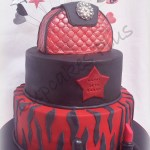 Red Birthday Cake Red And Black 18th Birthday Cake Cakecentral