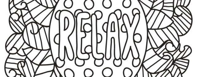 Relaxing Coloring Pages Coloring Page Quotes Coloring Pages For Adults Outstanding