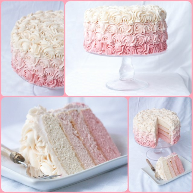 Rose Birthday Cake A Bouquet Of Roses How To Make A Rose Ombre Cake Country Cleaver