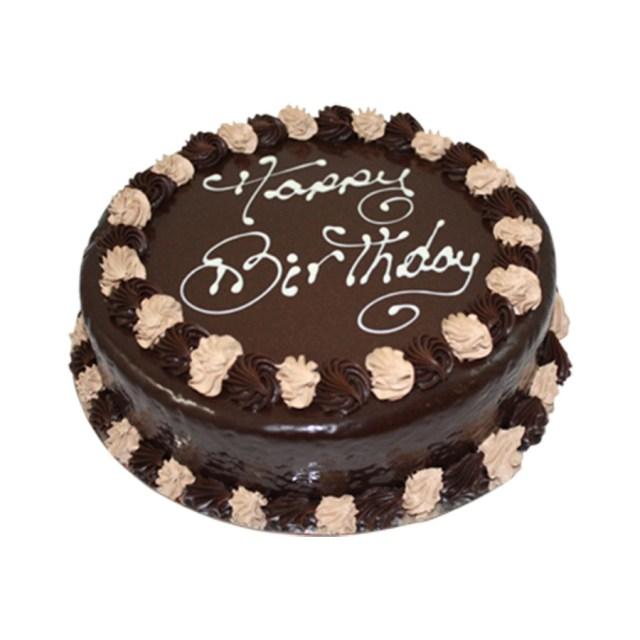 Round Birthday Cakes Chocolate Mud Round Happy Birthday Cake Just Cakes