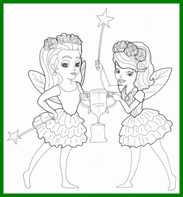 Sofia The First Coloring Page Crafty Inspiration Ideas Sofia The First Coloring Pages