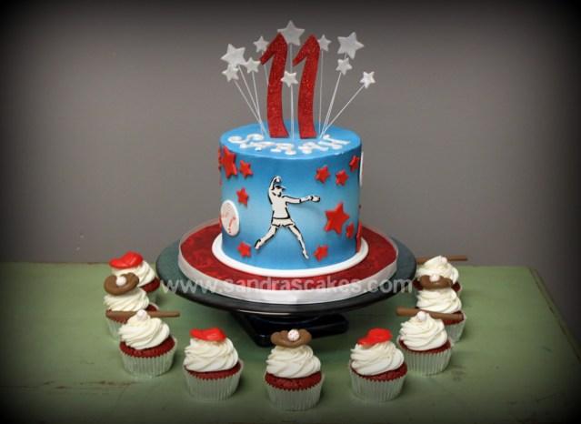 Softball Birthday Cakes Unique And Unique Birthday Cakes Roastedba7079over Blog