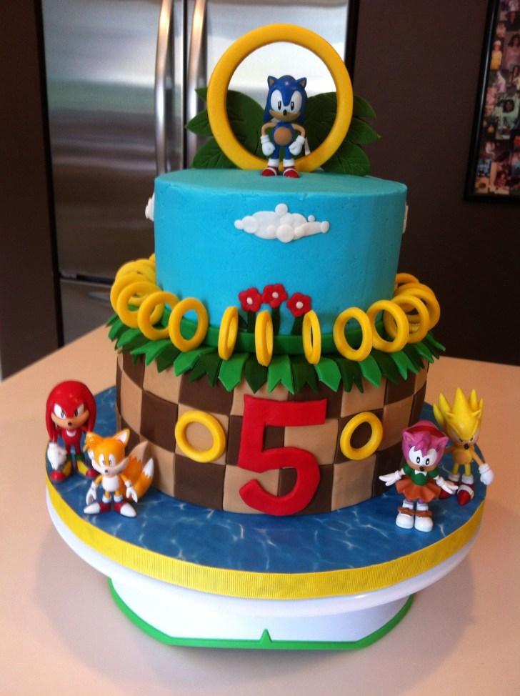 32+ Great Photo of Sonic Birthday Cake
