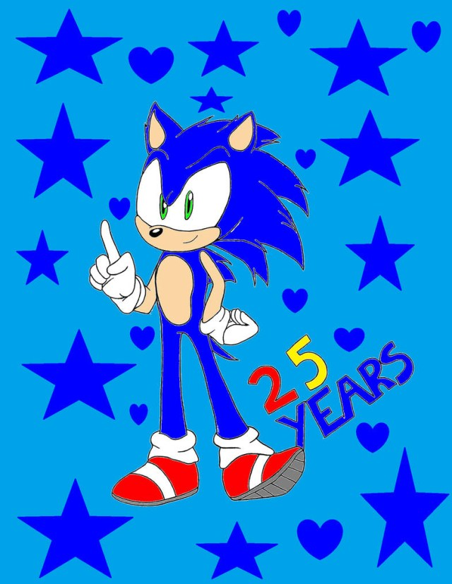 Sonic Birthday Cake Shake Happy Birthday Sonic Sonicandtailsfan64 On Deviantart