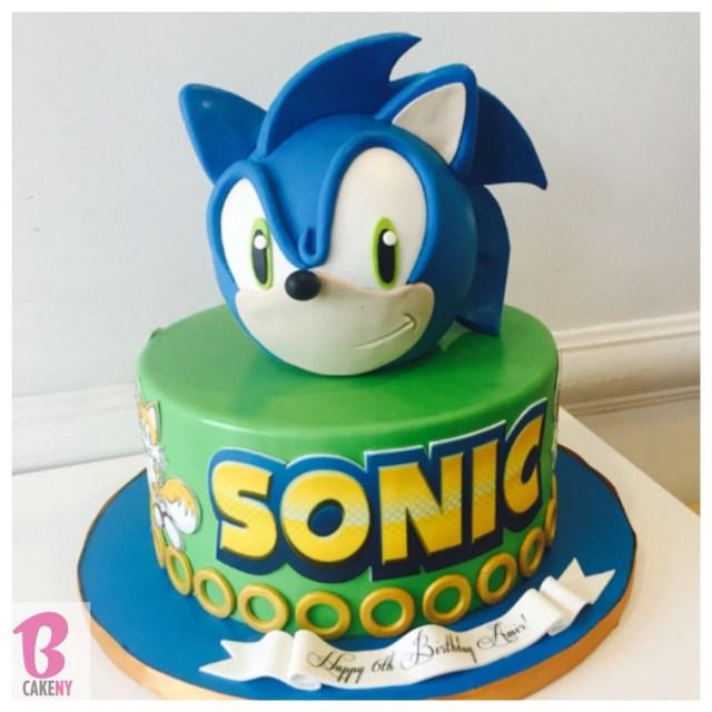 Sonic Birthday Cake Sonic Cake Soniccake Sonic Birthday Pinterest