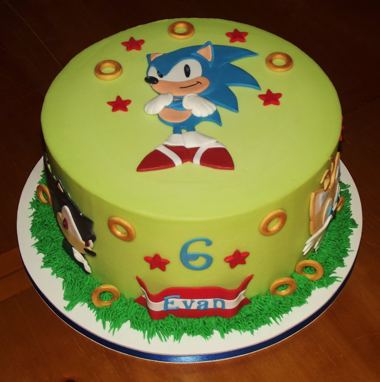 Sonic Birthday Cake Sonic Cakes Decoration Ideas Little Birthday Cakes