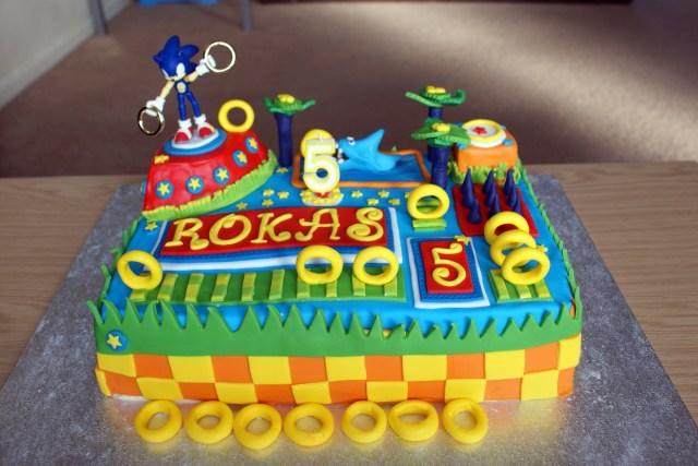 Sonic Birthday Cake Sonic The Hedgehog Birthday Cake Hobcraft Blog