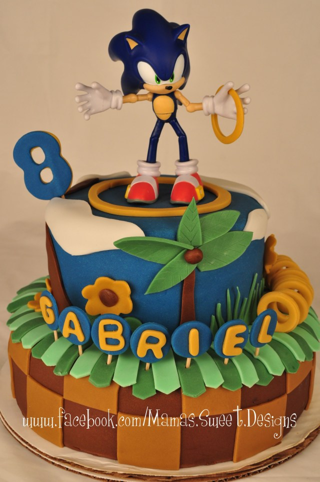 Sonic Birthday Cake Sonic The Hedgehog Cake Decorating Community Cakes Bake Pictures