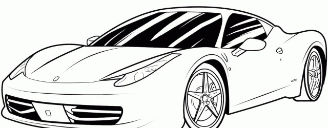 Sports Car Coloring Pages Sports Car Coloring Pages Free And Printable