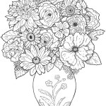 Spring Flowers Coloring Pages Coloring Page Extraordinary Flower Coloring Book