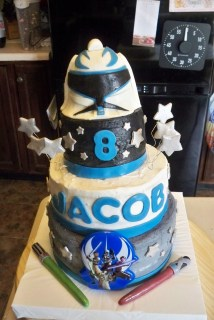 Star Wars Birthday Cakes Julie Daly Cakes Star Wars Clone Wars Birthday Cake