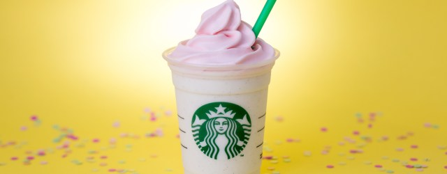 Starbucks Birthday Cake Frappuccino Whats In A Starbucks Birthday Cake Frappuccino Its A Celebration