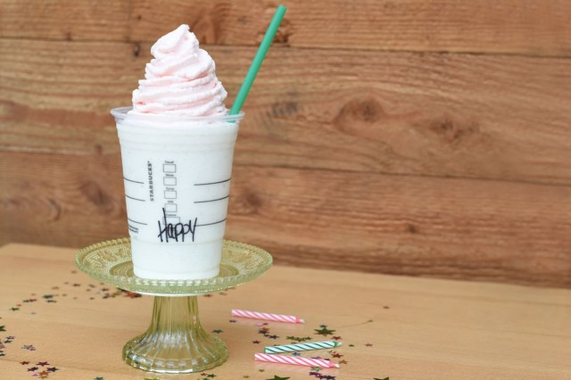 Starbucks Birthday Cake Starbucks Birthday Cake Frappuccino Is Only Available For Five Days
