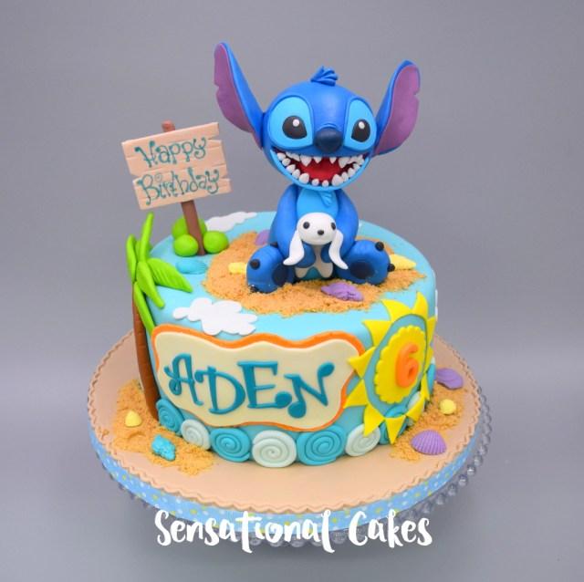 Stitch Birthday Cake The Sensational Cakes Lilo And Stitch Boy Birthday Theme 3d Cake