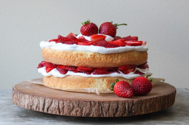 Strawberry Birthday Cakes Strawberry Layer Cake The Little Epicurean