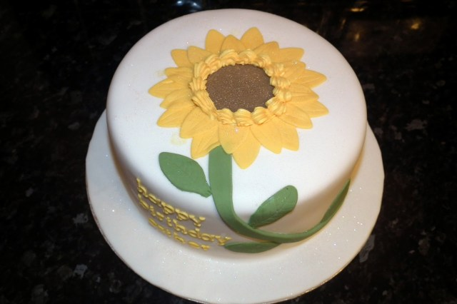 Sunflower Birthday Cake Double D Delights Sunflower Birthday Cake