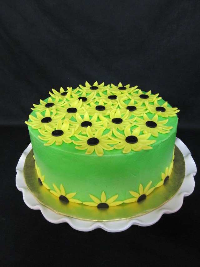 Sunflower Birthday Cake Sunflower Birthday Cake Food Drink That I Love Pinterest