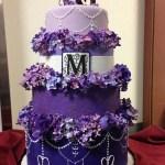 Sweet 16 Birthday Cake Sweet 16 Birthday Cake Gumpaste Flowers Ri And Fondant Cakecentral