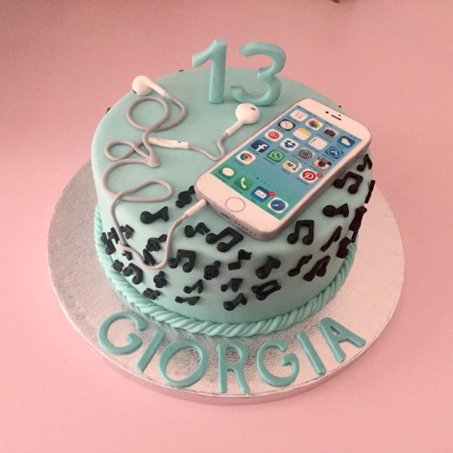 Teen Birthday Cake Torte Per Bambini Cakes Cake Birthday Cake 13 Birthday Cake