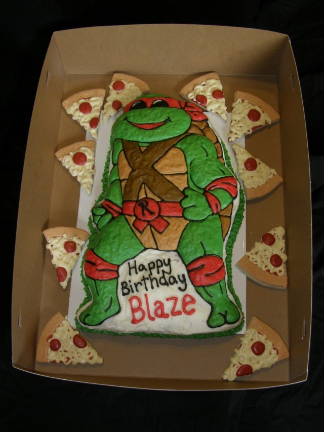 Teenage Mutant Ninja Turtles Birthday Cake Mrs Lydias Kitchen Tmnt Birthday Cake