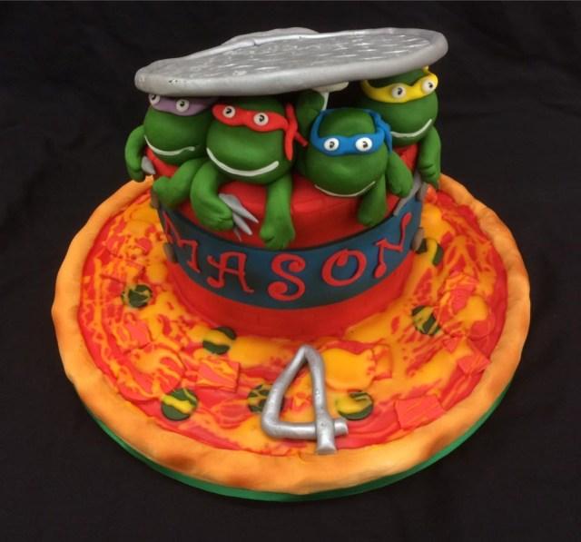 Teenage Mutant Ninja Turtles Birthday Cake Teenage Mutant Ninja Turtles Birthday Cake Cakes For All Uk