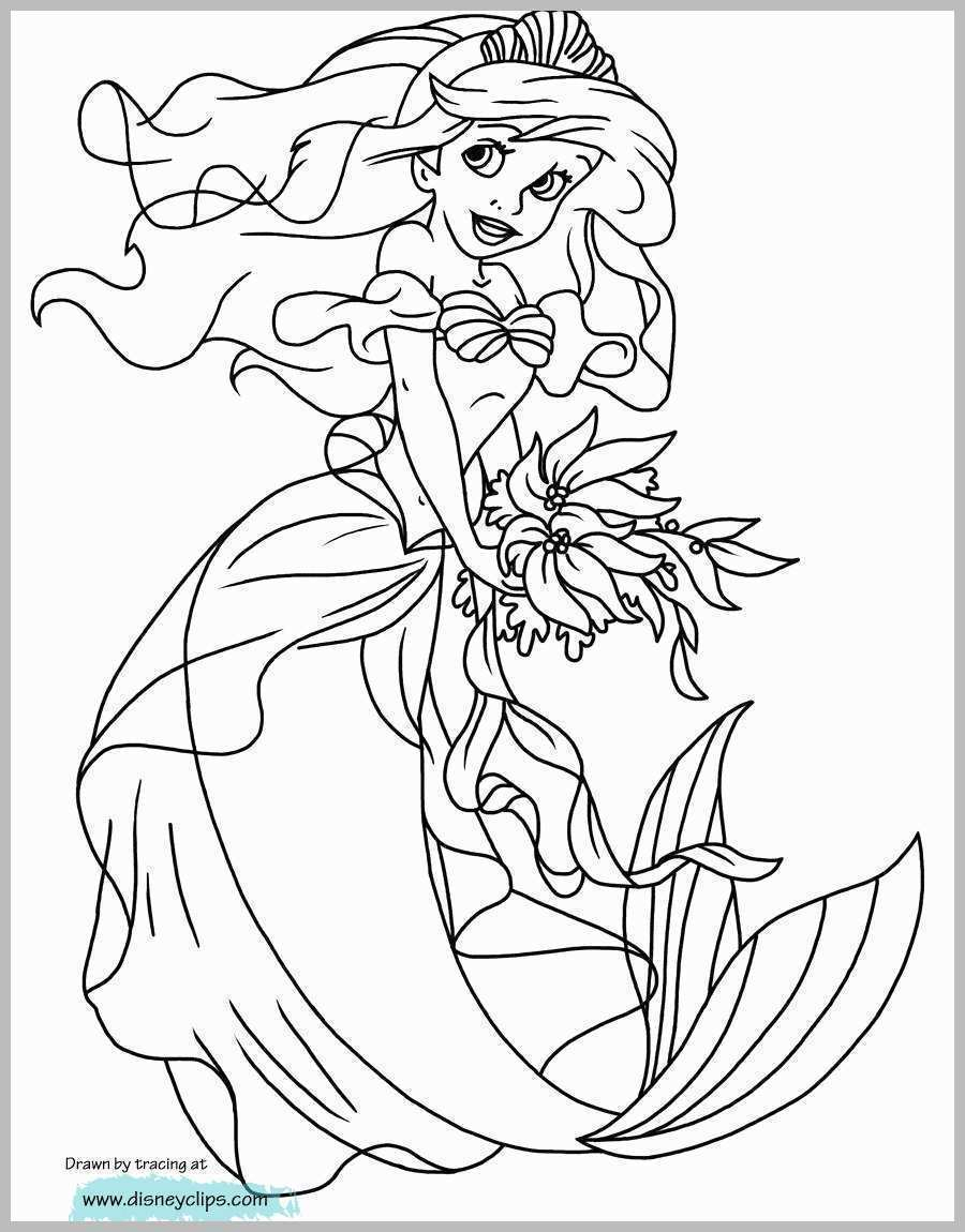 The Little Mermaid Coloring Pages The Little Mermaid Coloring Page