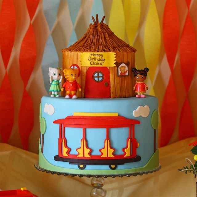 Tiger Birthday Cake Patty Cakes Bakery Daniel Tiger Birthday Daniel The Tiger